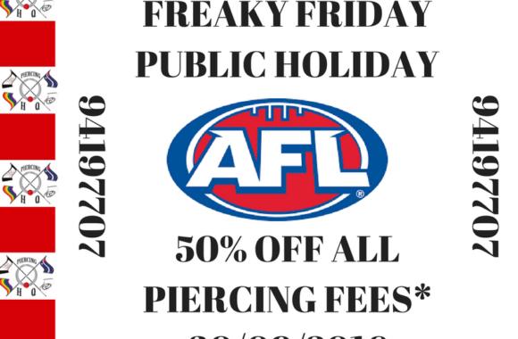 AFL FREAKY FRIDAY